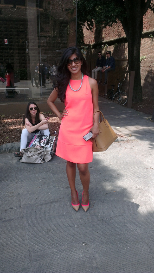 Pitti Immagine Uomo 86 - Lady In Pink